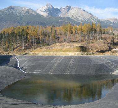 Zasnežovacia nádrž - GeoGard 42000 m²